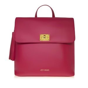🌺🆕🌺 Joy Mangano Iman Leather Tassel back pack